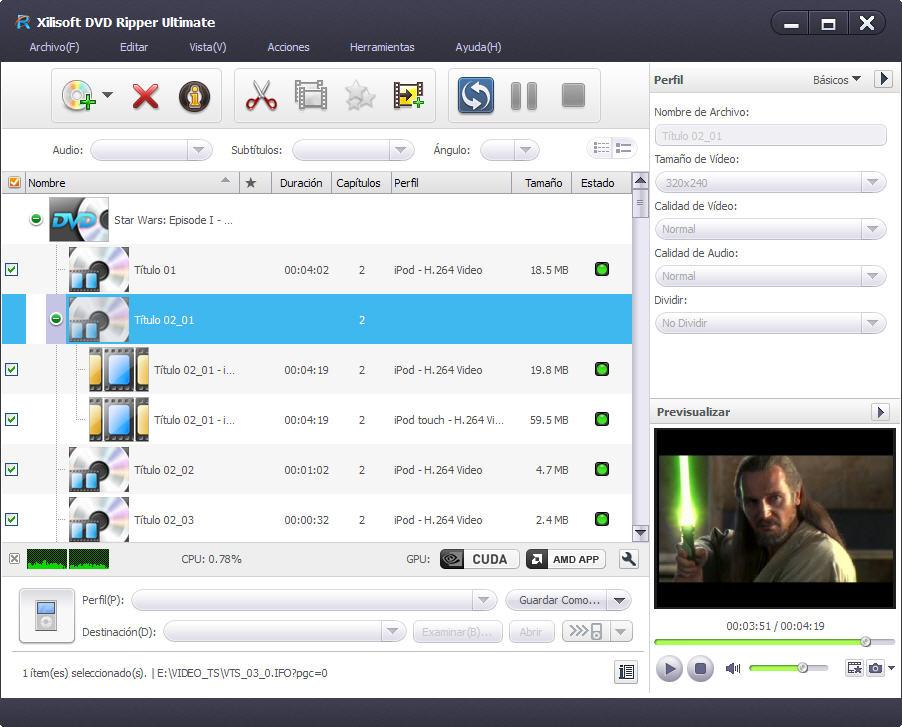 Xilisoft YouTube iPod Convertidor