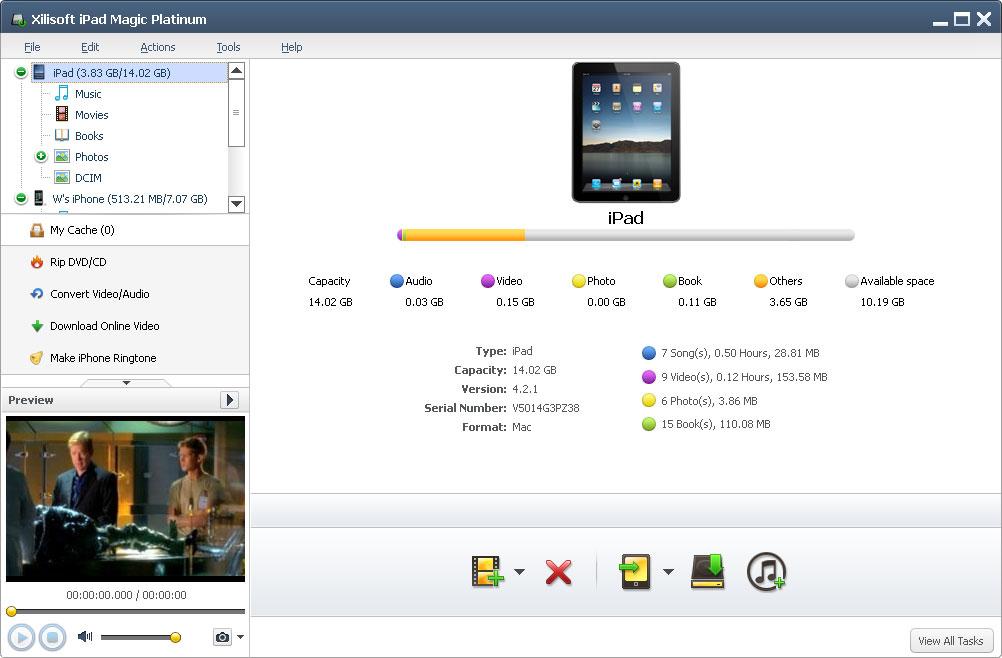 Xilisoft iPad Mágico