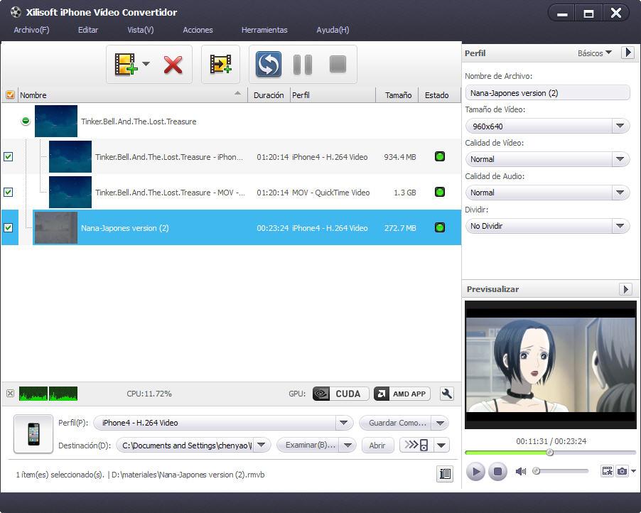 Xilisoft convertidor de iphone