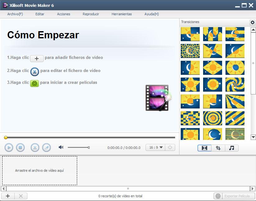 Xilisoft Movie Maker 6 - Screenshot