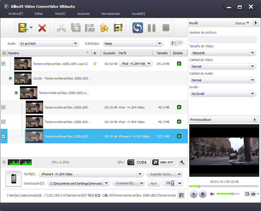 Xilisoft Video Convertidor