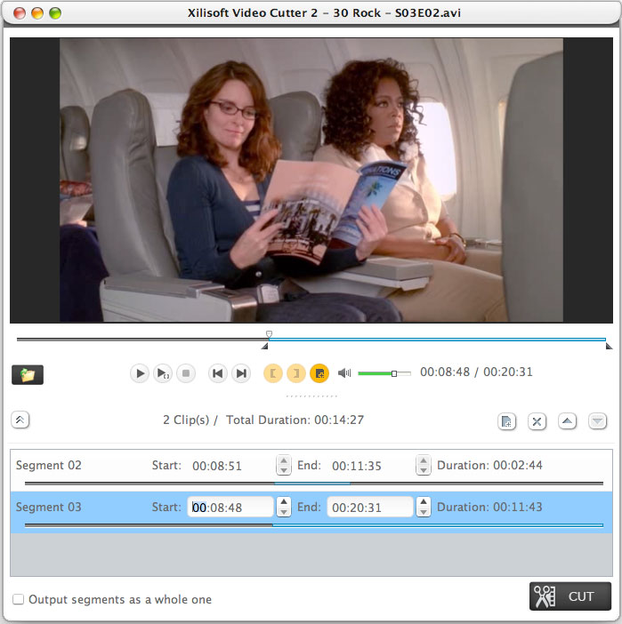 Cortar Video Mac - Screenshot