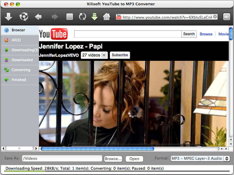 Convertir YouTube a MP3 Mac - Screenshot